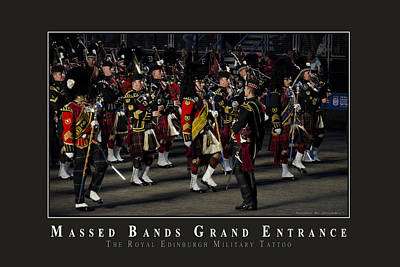 Marching Band Photograph - Massed Bands by AGeekonaBike Photography