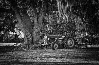Photograph - Massey Ferguson - Shade Tree by Scott Hansen