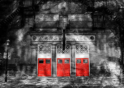 Photograph - Massey Hall 1b by Andrew Fare
