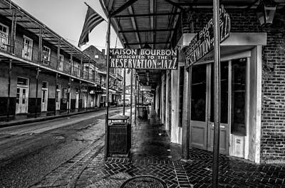 Photograph - Maison Bourbon Jazz Club 2 by Andy Crawford