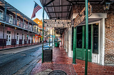 Photograph - Massion Bourbon Jazz Club by Andy Crawford