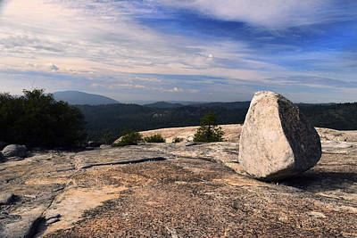 Photograph - Massive Glacial Erratic by Frank Wilson