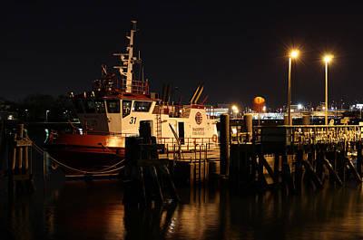 Photograph - Massport Fire Rescue 31 by Juergen Roth