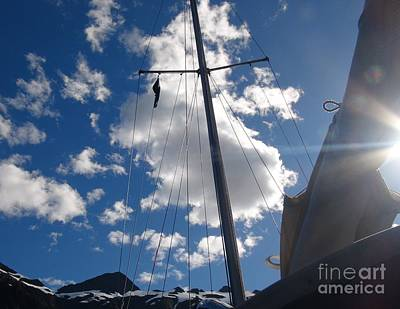 Photograph - Mast And Sky by Laura  Wong-Rose