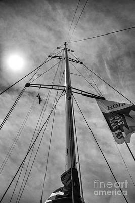 Mast Of Yacht Art Print by Avalon Fine Art Photography
