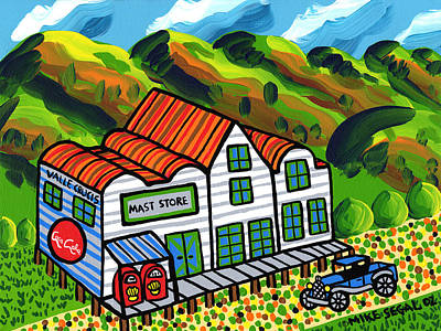 Mast Store Valle Crucis North Carolina Art Print