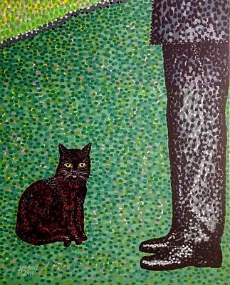 Master And Servant Art Print by Alan Hogan