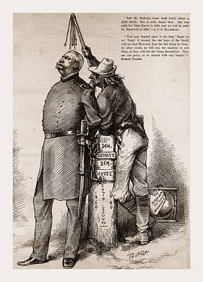 Slaves Drawing - Master And Slave by Litz Collection