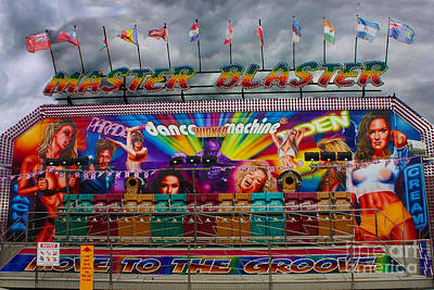 Photograph - Master Blaster All The Fun Of The Fair by Terri Waters