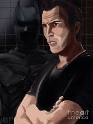 Dark Knight Rises Painting - Master Bruce by Jeremy Nash