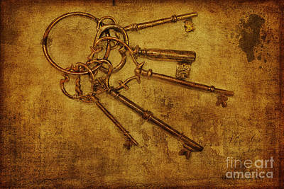 Photograph - Master Keys by Linda Blair