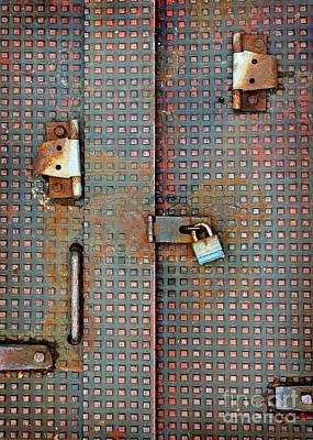 Photograph - Master Lock by Karen Adams