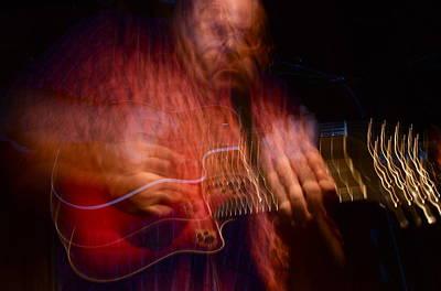Mandolinist Photograph - Master Mystery Mandolin by Dan Terry
