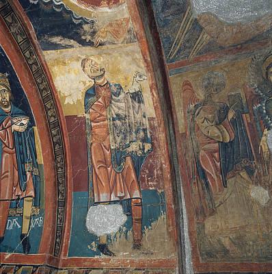 Agnus Painting - Master Of Santa Maria De Taull  by Celestial Images