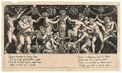 Master Of The Die Italian, Born Ca. 1512 Art Print