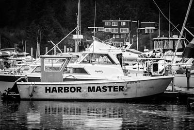 Master Of The Harbor Art Print by Melinda Ledsome