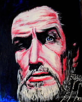 Vincent Price Painting - Master Of The Macabre-vincent Price  by Keith Baugh
