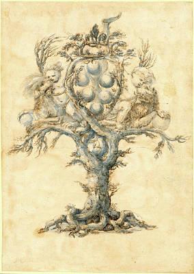 Master Of The Medici Banquet Decanters, Italian Active Art Print