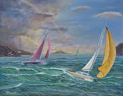 Painting - Masters Of The Sea by William Stewart