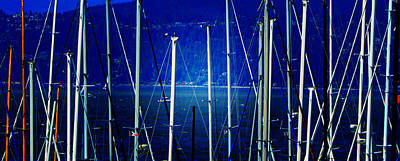 Photograph - Masts 3 by Laurie Tsemak