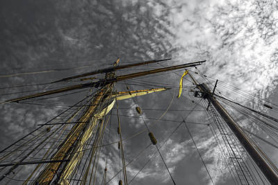 Masts And Rigging Art Print