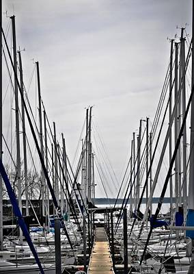 Photograph - Masts by Greg Jackson