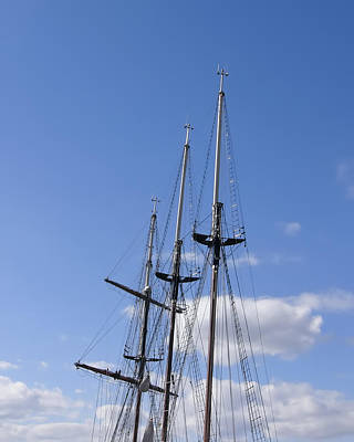 Photograph - Masts by Rhonda McDougall