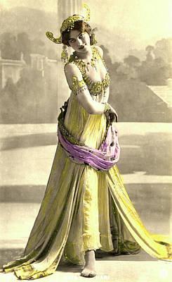 Espionage Photograph - Mata Hari by Collection Abecasis