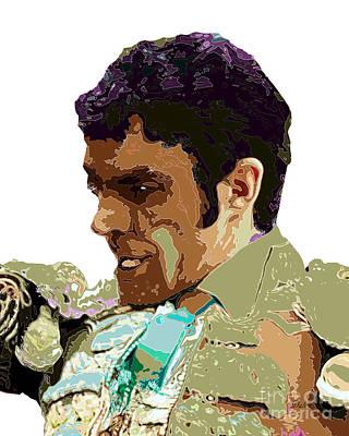 Bullfight Digital Art - Matador by Dalon Ryan