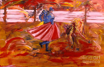 Painting - Matador by Mounir Mounir