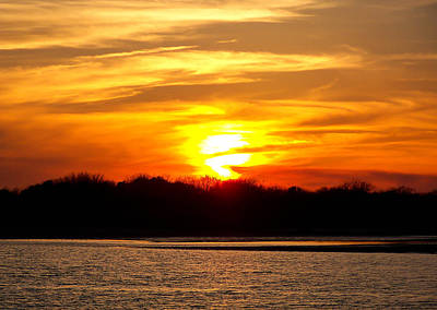 Photograph - Matagorda Sunset by Shey Stitt