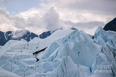 Matanuska Glacier Art Print