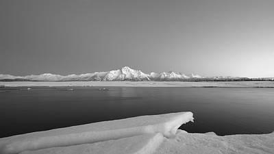 Alaska Photograph - Matanuska River Alaska by Scott Slone