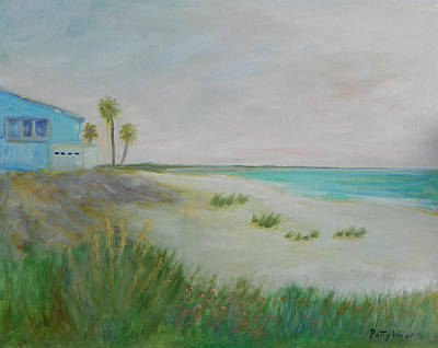 Painting - Matanzas Inlet On A1a by Patty Weeks
