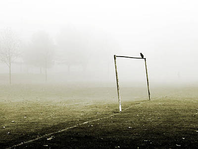 Soccer Photograph - Match Abandoned by Mark Rogan