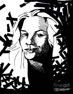 Match My Poem Entry Art Print by Samantha Geernaert