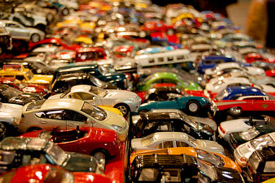 Photograph - Matchbox Cars by Staci Bigelow