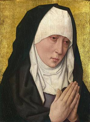 1470 Painting - Mater Dolorosa by Dieric Bouts