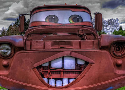 Photograph - Mater Look Alike by Thom Zehrfeld