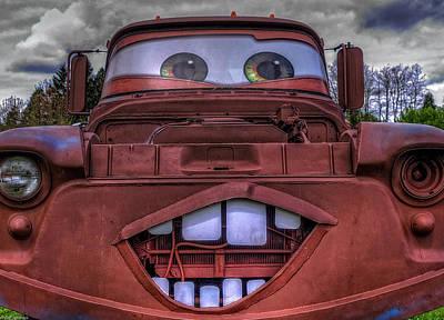 Photograph - Mater Look Alike by Thom Zehrfeld