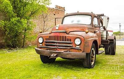 Photograph - Mater The Prototype Route 66 Galena Kansas by Deborah Smolinske