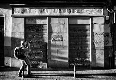 Photograph - Material Para Laboratorio by Pablo Lopez