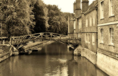 Photograph - Mathematical Bridge by Andy Readman