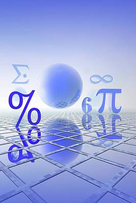 Pi Photograph - Mathematics by Carol & Mike Werner