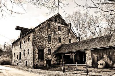Mather Digital Art - Mather Mill At Fort Washington Pa by Bill Cannon