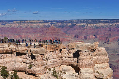 Photograph - Mather Point by Lou Ford