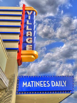 Photograph - Matinees Daily by Paul Wear