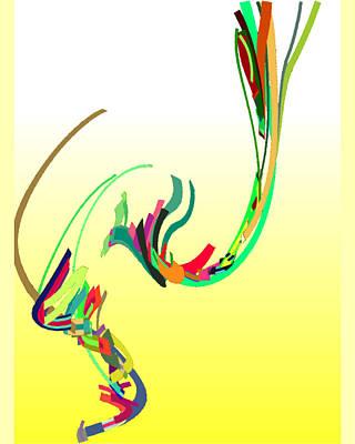 Digital Art - Mating Dance by Stephen Coenen