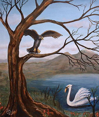 Painting - Mating Season by Claudia Croneberger