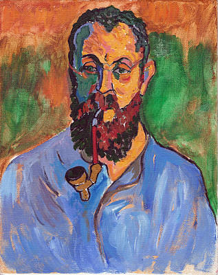 Painting - Matisse by Tom Roderick